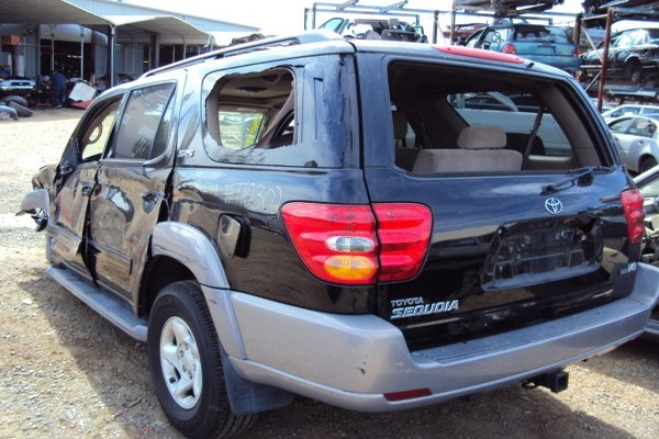 2002 toyota sequoia 2wd fully loaded stk t10302. Black Bedroom Furniture Sets. Home Design Ideas