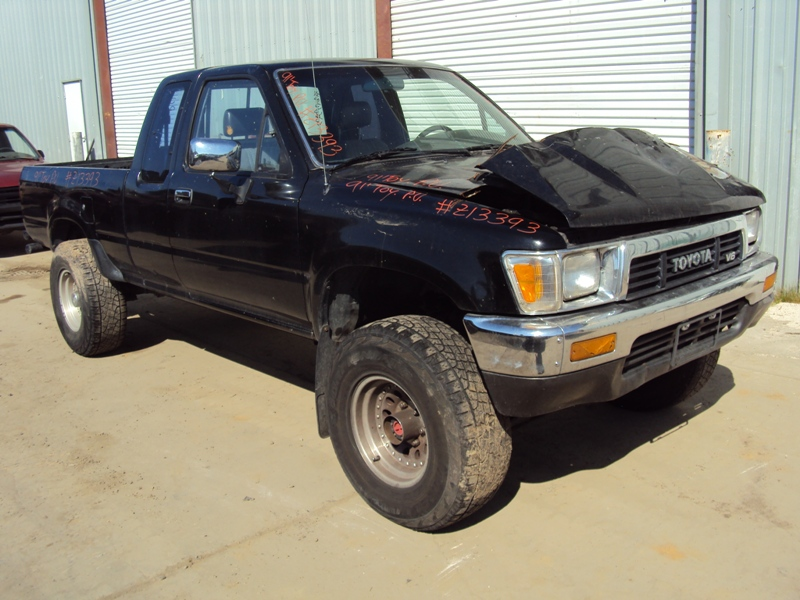 1991 toyota pick up xtra cab deluxe model 3 0l v6 at 4x4. Black Bedroom Furniture Sets. Home Design Ideas