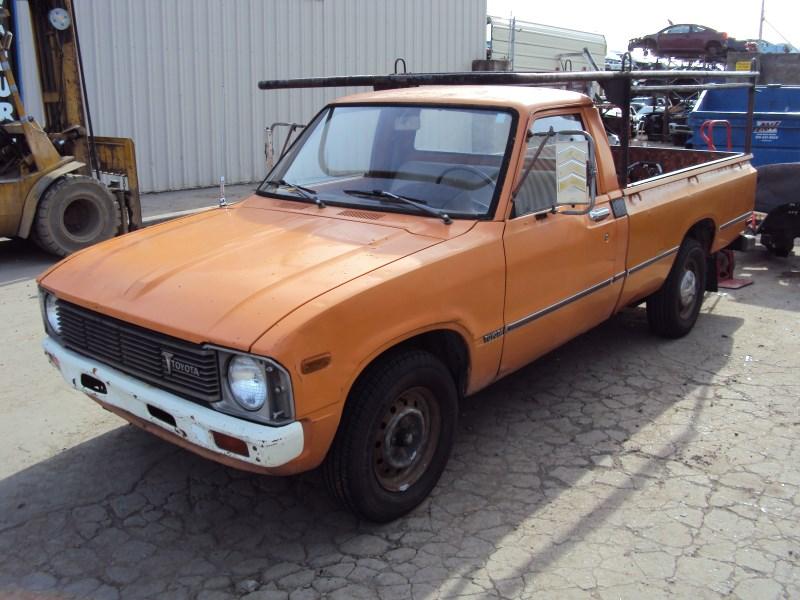 1979 toyota pick up regular cab std model 2 4l carburetor mt 4speed 2wd color orange z14622. Black Bedroom Furniture Sets. Home Design Ideas