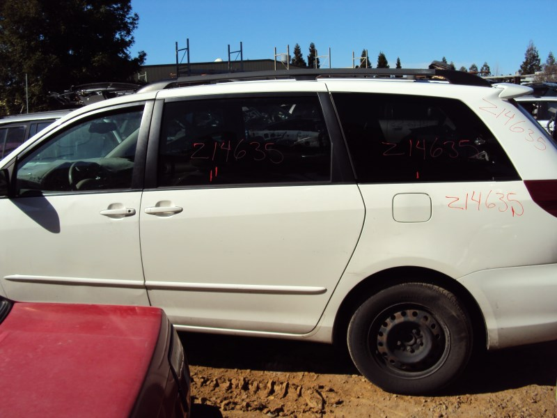 2004 Toyota Sienna Le Model Dual Sliding Doors 3 3l V6 At Fwd Color White Z14635 Rancho Toyota