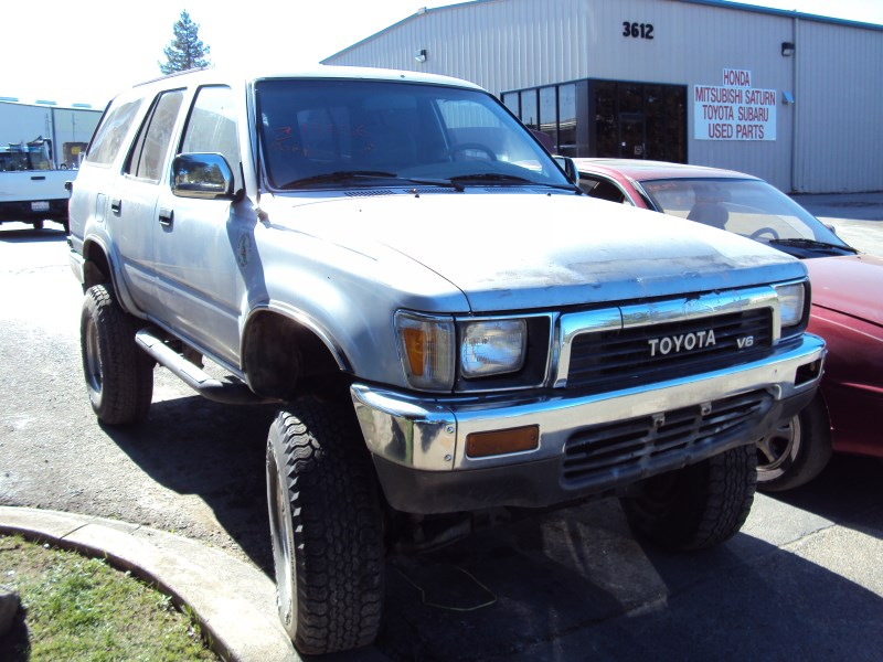 1990 Toyota 4 Runner Sr5 Model 3 0l V6 At 4x4 Color Blue Z14636 Rancho Toyota Recycling