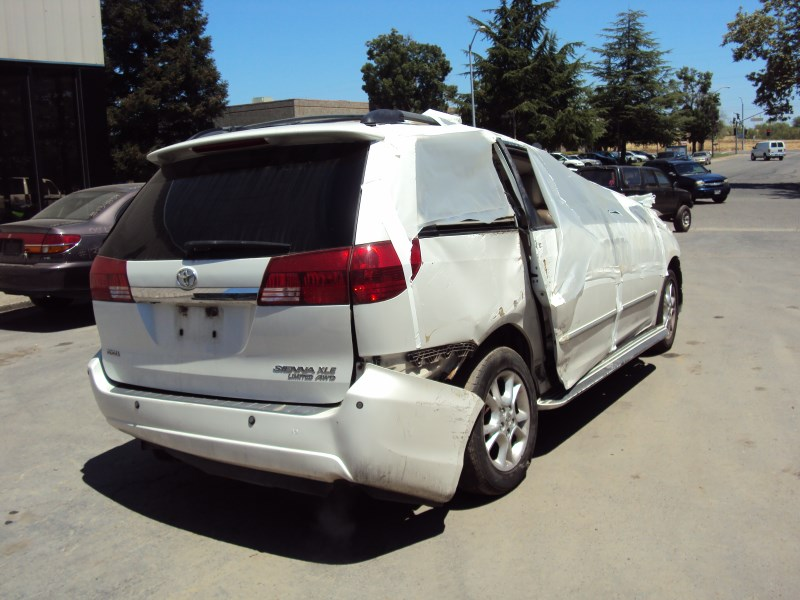 2004 toyota sienna van xle model 3 3l v6 at awd color white z13478 rancho toyota recycling. Black Bedroom Furniture Sets. Home Design Ideas