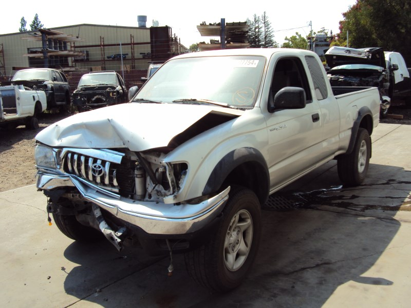 2002 toyota tacoma xtra cab sr5 pre runner model 3 4l v6 at 2wd color silver z14720 rancho. Black Bedroom Furniture Sets. Home Design Ideas
