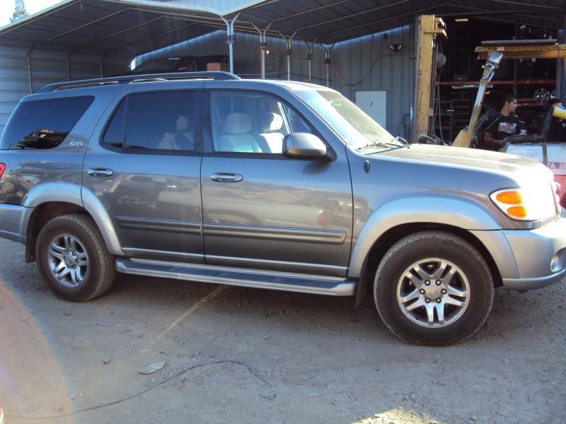 2003 toyota sequoia suv sr5 model 4 7l v8 at 2wd color. Black Bedroom Furniture Sets. Home Design Ideas