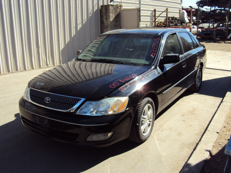 2000 toyota avalon 4 door sedan xls model 3 0l v6 at fwd color black z13515 rancho toyota recycling used toyota truck parts