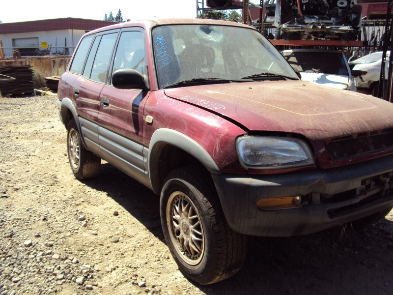 1997 Toyota Rav4 4 Door Std Model 2 0l Mt 4wd Color Red