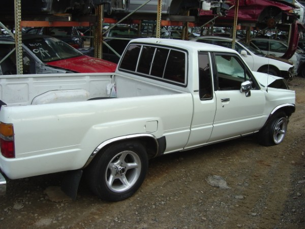 Parts Used: Toyota Truck Parts Used