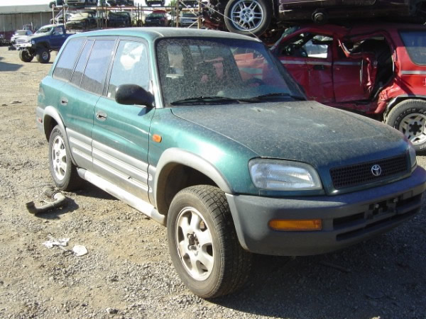 1997 Toyota Rav 4   5 Speed Transmission   Color   Green