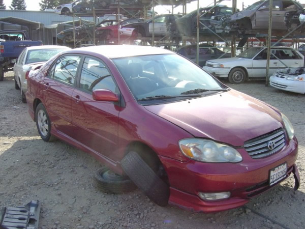 2004 Toyota Corolla S Series  5 Speed Trans With All The