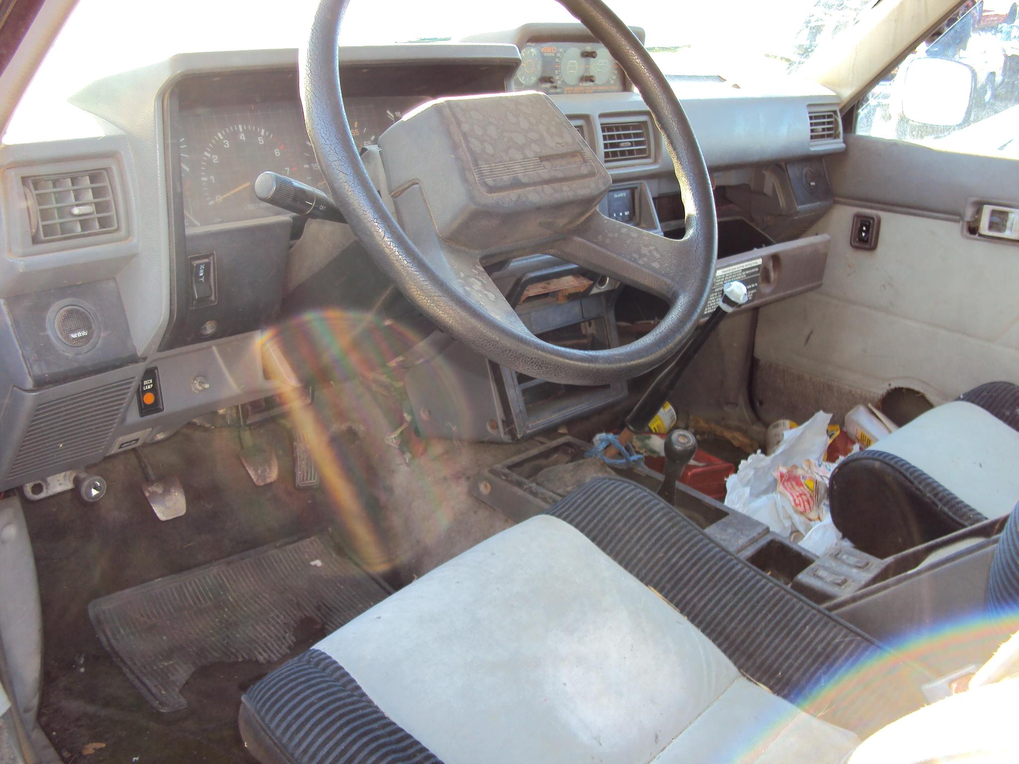 1984 toyota 4 runner manual transmission black stk t09272 rancho toyota recycling. Black Bedroom Furniture Sets. Home Design Ideas