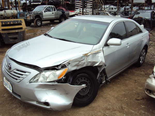 2007 Toyota Camry 4cyl  Automatic  Color Silver Rancho