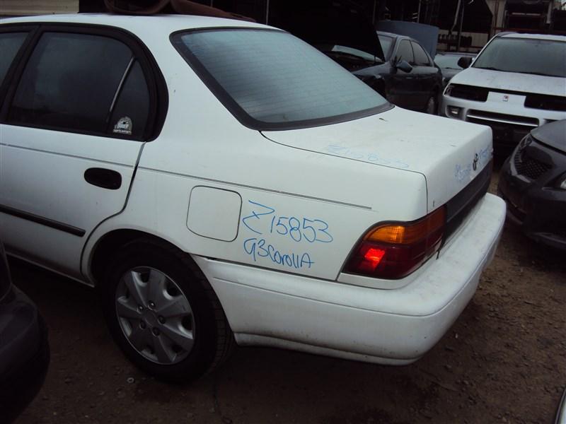 1993 TOYOTA COROLLA DX, 1 8L AUTO SDN, COLOR WHITE, STK Z15853