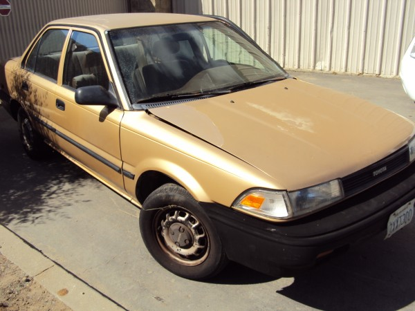 1990 toyota corolla 4cyl automatic transmission color. Black Bedroom Furniture Sets. Home Design Ideas