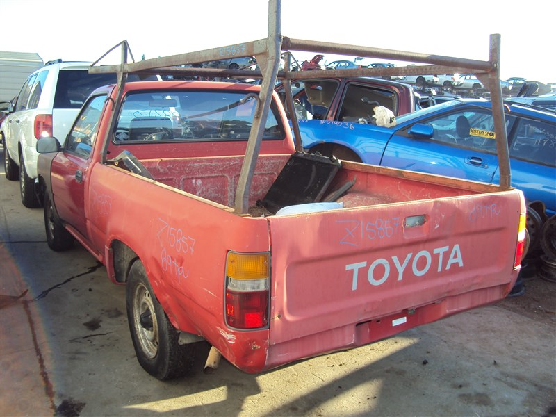 1989 toyota pick up 2wd 2 4l auto color red stk z15859 rancho toyota recycling. Black Bedroom Furniture Sets. Home Design Ideas
