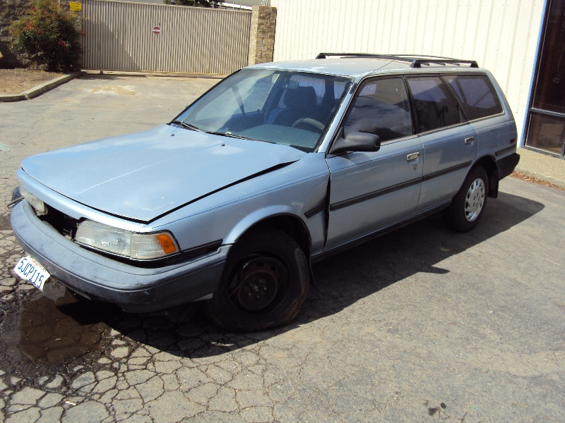 1989 TOYOTA CAMRY STATION WAGON, 2.0L ENGINE, AUTOMATIC ...