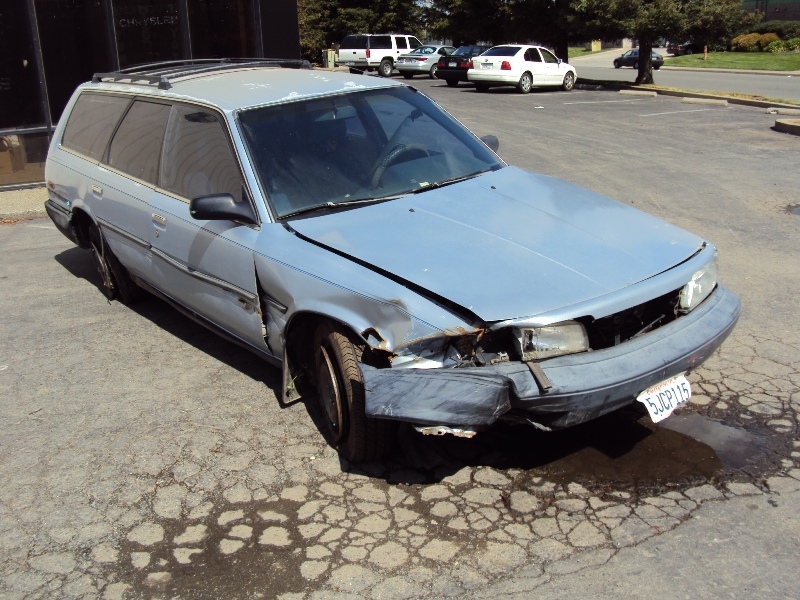 1989 Toyota Camry Station Wagon 2 0l Engine Automatic Transmission Color Blue