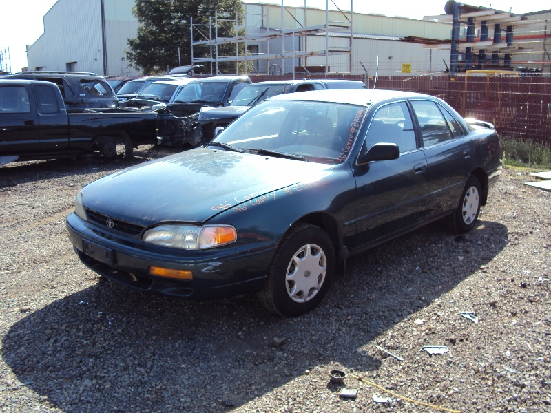 1996 TOYOTA CAMRY, 2 2L ENGINE, AUTOMATIC TRANSMISSION, COLOR GREEN