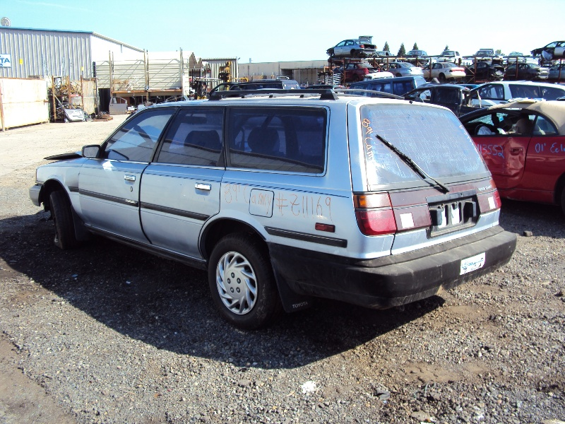 1989 TOYOTA CAMRY STATION WAGON, 2.0L ENGINE, AUTOMATIC TRANSMISSION ...
