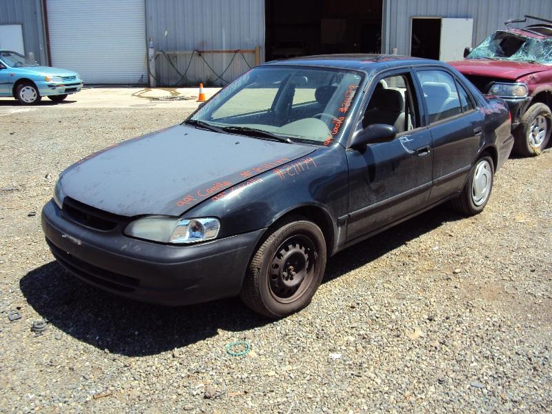 1999 toyota corolla ce model 1 8l engine automatic transmisson 4spd color green stk z11179