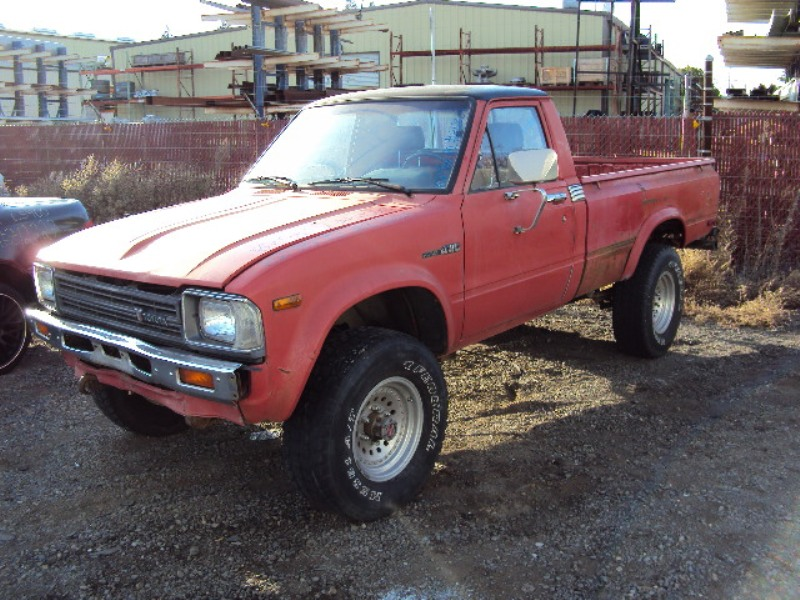 1982 Toyota Pick Up Regular Cab 2 4l Carburetor Mt 4x4