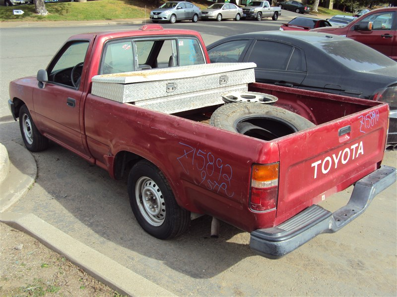 1995 toyota pick up 2 4l 5speed 2wd color red stk z15892 rancho toyota recycling. Black Bedroom Furniture Sets. Home Design Ideas