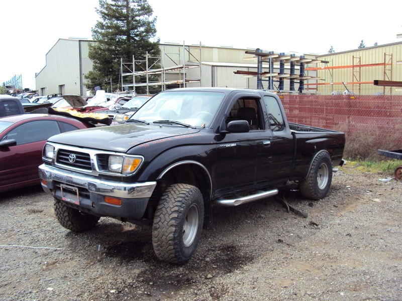 1996 Toyota Tacoma Xtra Cab Dlx Model 3 4l V6 Mt 4x4 Color