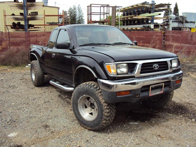 1996 toyota tacoma xtra cab dlx model 3 4l v6 mt 4x4 color