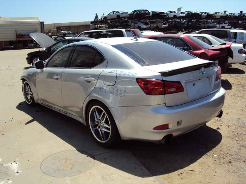 2007 lexus is 250 2 5l at rwd color silver stk z12267 rancho toyota recycling. Black Bedroom Furniture Sets. Home Design Ideas