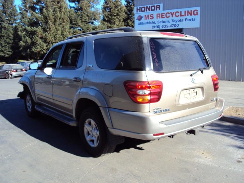 2002 toyota sequoia suv sr5 model 4 7l v8 at 2wd color. Black Bedroom Furniture Sets. Home Design Ideas