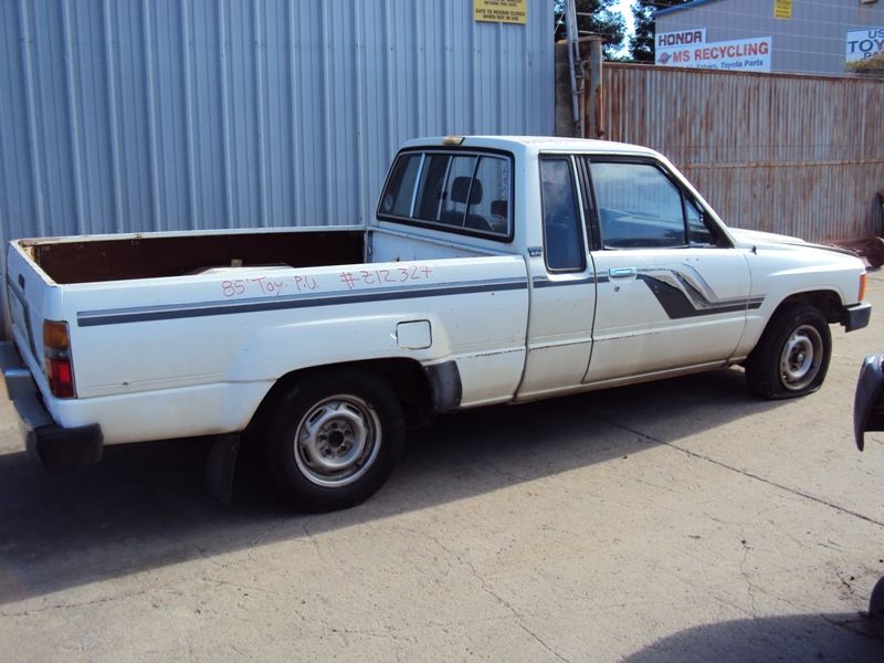 1985 TOYOTA PICK UP XTRA CAB SR5 MODEL 24L EFI MT 2WD 5