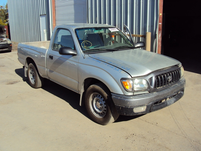 2001 toyota tacoma deluxe model regular cab 2 4l at 2wd color silver stk z12329 rancho toyota. Black Bedroom Furniture Sets. Home Design Ideas