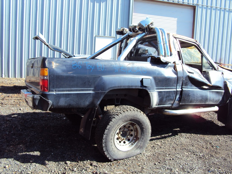 Toyota Pickup Parts >> 1986 Toyota Pick Up Standard Model Regular Cab 2 4l Efi