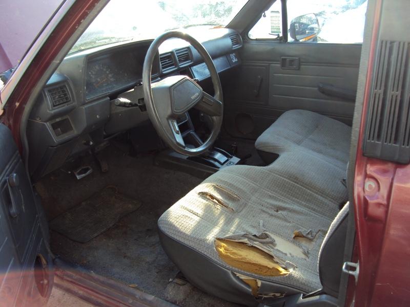1988 toyota truck deluxe model regular cab long bed 3 0l v6 at 4x4 color red stk z13371 rancho. Black Bedroom Furniture Sets. Home Design Ideas