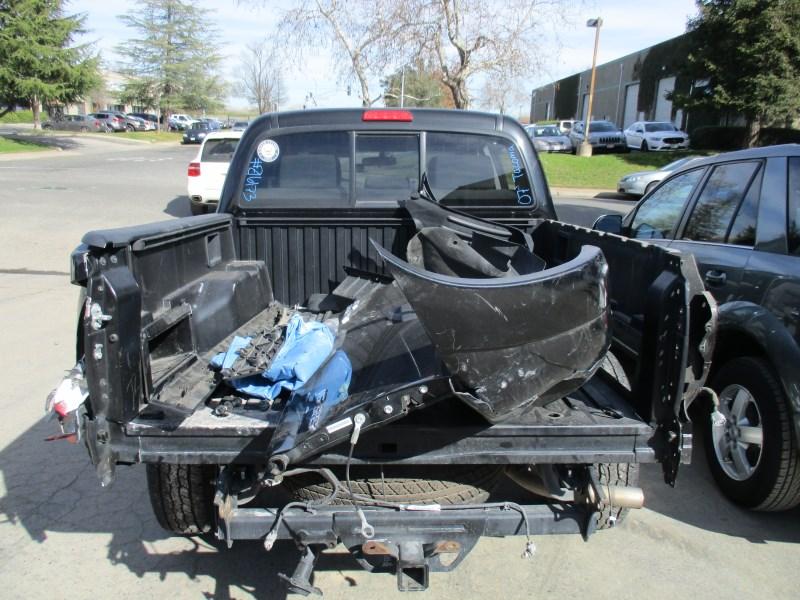 2007 Toyota Tacoma Sr5 Black Double Cab 4 0l Mt 4wd Z16173