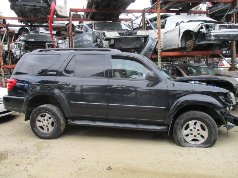 2002 toyota sequoia limited black 4 7l at 4wd z17612 rancho toyota recycling used toyota truck parts