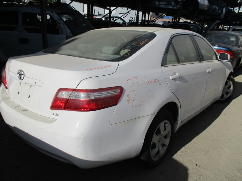 toyota camry 2007 white. 2007 toyota camry le white 24l at z16194 toyota camry white