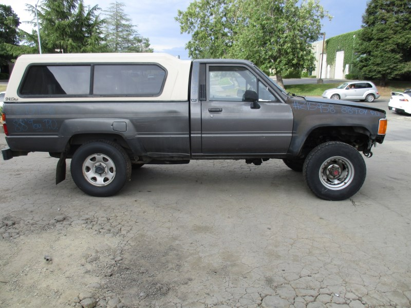 1988 TOYOTA PICK UP GRAY 2 DR 1 2 TON DELUXE STANDARD CAB