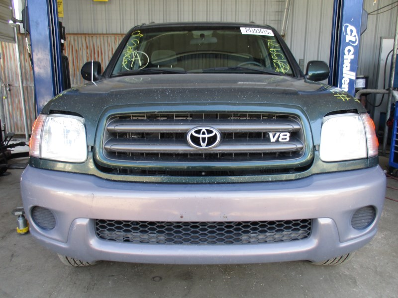 2001 toyota sequoia sr5 green 4 7l v8 at 4wd z15971 rancho toyota recycling. Black Bedroom Furniture Sets. Home Design Ideas
