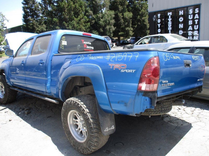 2005 toyota tacoma trd sport blue 4 0l at 4wd long bed crew cab z15977 rancho toyota recycling. Black Bedroom Furniture Sets. Home Design Ideas