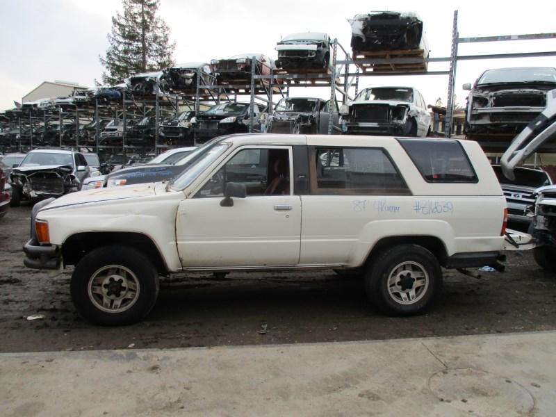 1987 TOYOTA 4RUNNER DLX 2.4L MT 4WD Z16539 - RANCHO TOYOTA ...