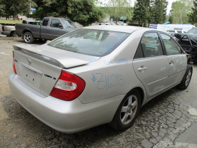 2004 TOYOTA CAMRY SE SILVER 2.4L AT Z16283 ...