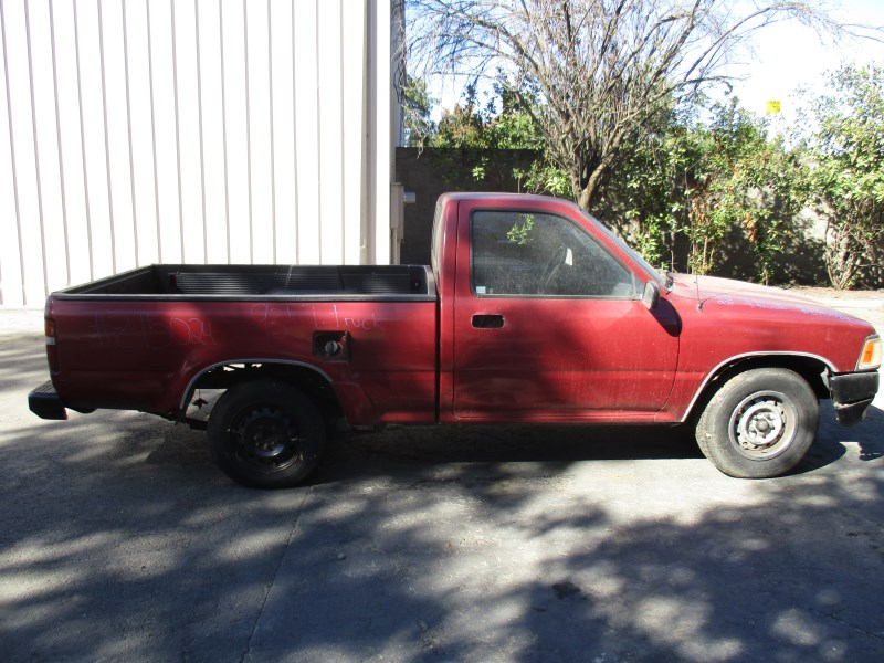 1993 Toyota Truck Red Half Ton 24l At 2wd Short Bed Standard Cab