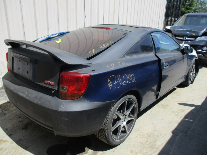 2001 TOYOTA CELICA GT S BLUE 1.8L AT Z16292 ...