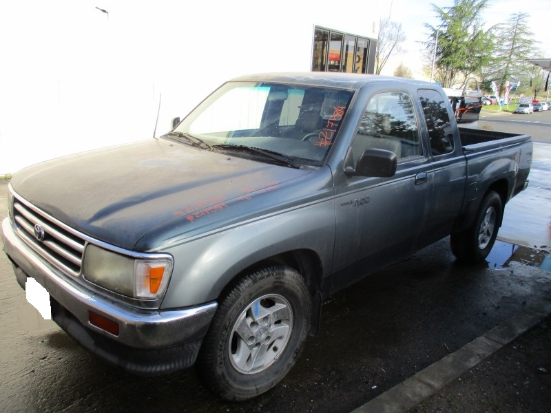 1996 toyota t100 green xtra cab 3 4l mt 2wd z17584 rancho toyota recycling. Black Bedroom Furniture Sets. Home Design Ideas