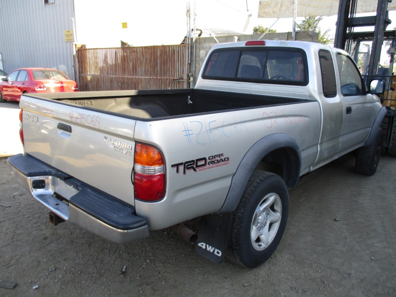 2002 toyota tacoma sr5 silver xtra cab short bed 3 4l mt 4wd z15064 rancho toyota recycling. Black Bedroom Furniture Sets. Home Design Ideas
