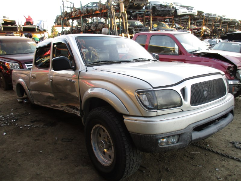 2002 toyota tacoma prerunner double cab silver 3 4l at 2wd z15101 rancho toyota recycling. Black Bedroom Furniture Sets. Home Design Ideas