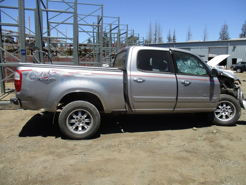 2006 TOYOTA TUNDRA DOUBLE CAB SILVER DARRELL WALTRIP 4.7L AT 4WD Z16365 ...