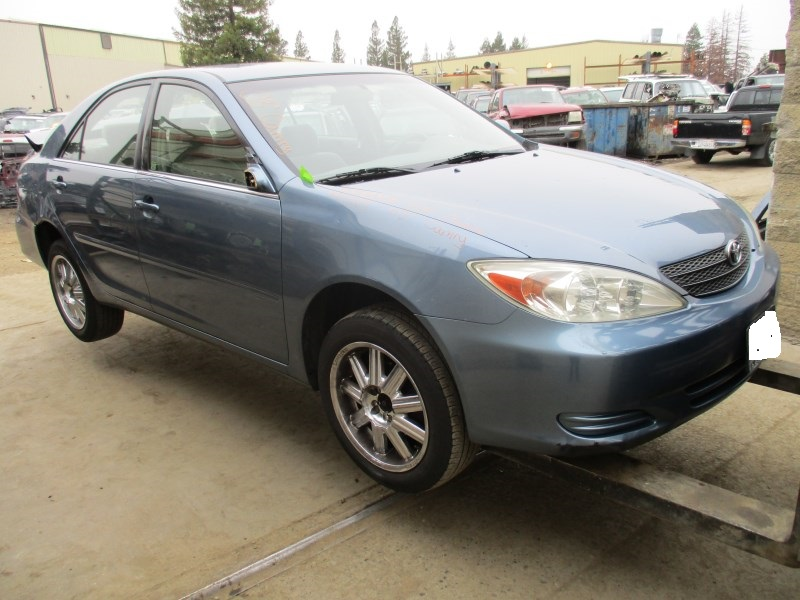 2003 toyota camry le light blue 2 4l at z15119 rancho toyota recycling. Black Bedroom Furniture Sets. Home Design Ideas