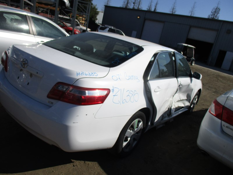 toyota camry 2007 white. 2007 toyota camry le white 24l at z16385 toyota camry white