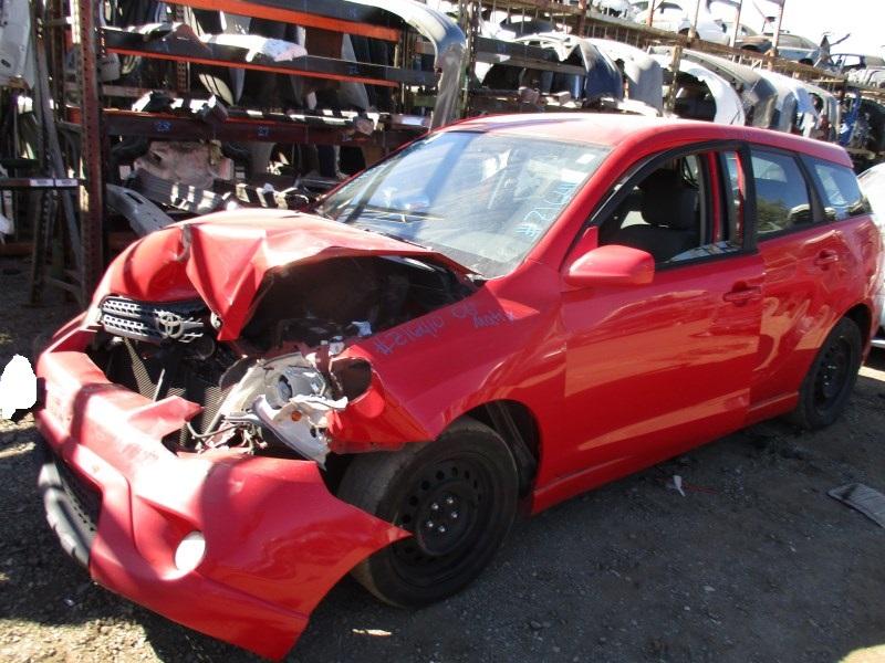 2006 Toyota Matrix Xr Red 1 8l At Z16410